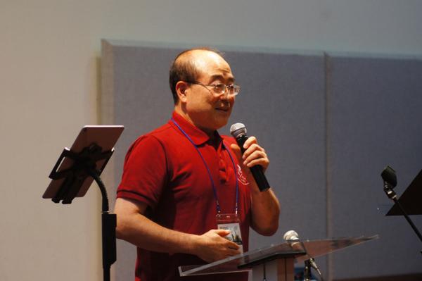캐나다에서 참석한 박웅기 목사
