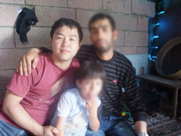▲김진욱 선교사의 터키 사역 모습.