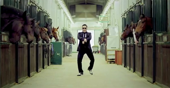 싸이 강남스타일 뮤직비디오 캡쳐.
