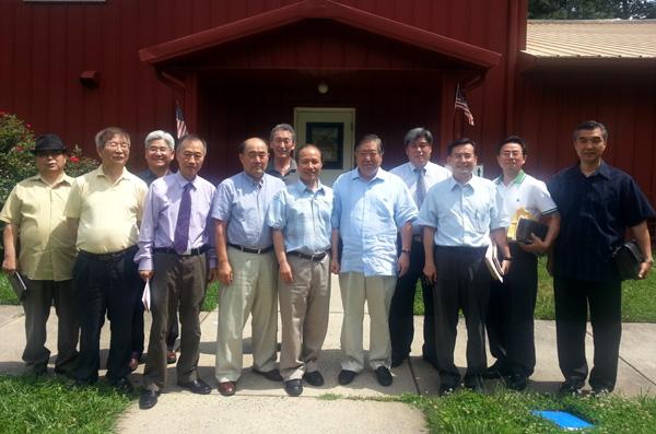 워싱턴한인목회연구원 7월 정기모임이 8일 워싱턴제일교회에서 열렸다.